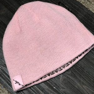 Pink Nike Winter Hat
